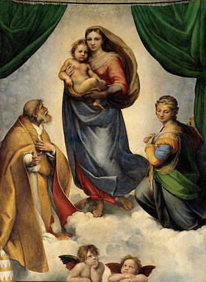 La Madonna di San Sisto by Raphael